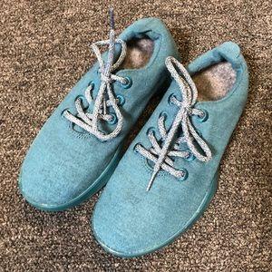 Allbirds Women's Teal Merino Wool Sneakers